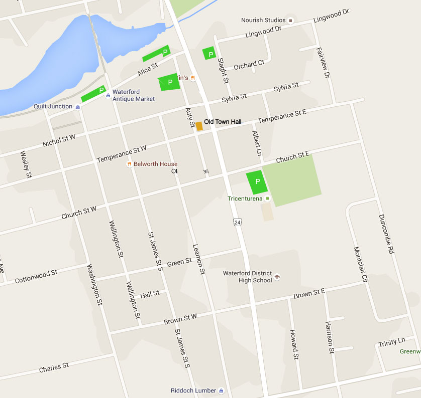 Where to Park in Waterford